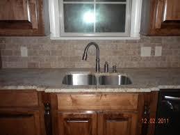 Brick Backsplash Tile apartment brick backsplash white kitchen cabinet and custom white 2630 by guidejewelry.us