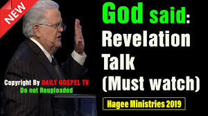 John Hagee Revelation Chart John Hagee 2019 God Said Revelation Talk Powerful Sermon