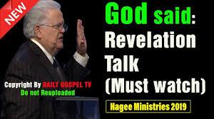 John Hagee 2019 God Said Revelation Talk Powerful Sermon