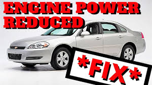 FIX* 2006 Chevy Impala - Engine Power Reduced *FIX* - YouTube