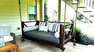 hanging porch bed swing plans daybed diy