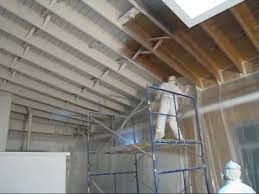 940 pitner spraying ceiling primer 2222010wmv YouTube