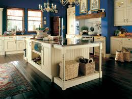 Blue Kitchen Decorating Blue Kitchen Cabinets Pictures Quicuacom