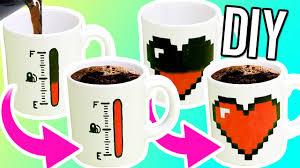 Make magic mugs for gifts! - YouTube