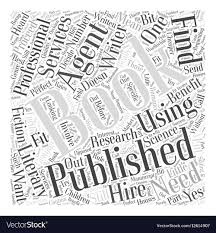 Getting A Book Published Do You Need An Agent Word