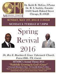 spring revival flyer messiah temple missionary baptist church spring revival 2016 flyer