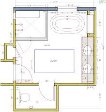 bathroom floor plans walk in shower. Master Bathroom Floor Plans With No Tub And Walk In Shower O