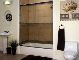 a semi frameless shower enclosure is a great option for both tub shower combos and walk in shower enclosures these enclosures are durable