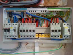 inside a household fuse box a revolutionary move to colour code how to wire a fuse box diagram at How To Wire A Fuse Box In A House
