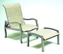 outdoor chair with ottoman. Outdoor Furniture Ottoman Patio Chair With I