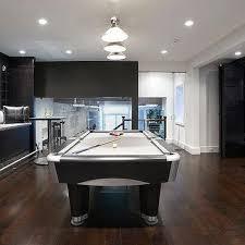 Modern billiard room home billiards Winsome Contemporary Contemporary Basement Bunk Room Decorpad Basement Pool Table Design Ideas