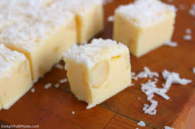 if you re a coconut lover this fudge is for you white chocolate