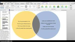 smart art venn diagram   youtube