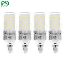 104 Led Snowflake Motion Lights Ywxlight 4pcs E14 12w 1200lm Led Bulbs Candle Lights Led Corn Lights 60led Smd 2835 Cold White Ac 85 265 V