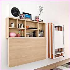 drop down wall desk 11 photos xelia home with regard to folding table attached to wall butch block wall mounted