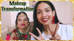 vlog my first makeup client punjabi