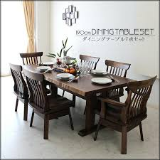6 person table new life cm dining table set dining set dining 7 points set oak