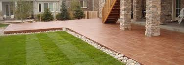 Backyard Concrete Designs Stunning Custom Concrete Denver Custom Hardscape Design Contractor