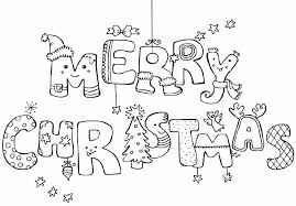 Small Picture Happy christmas coloring pages download and print for free