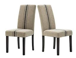 modern upholstered stripe dining chair retro formal elegant dining chairs with navy blue stripe pattern