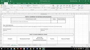 individual performance commitment and review form ipcrf template individual performance commitment and review form ipcrf template