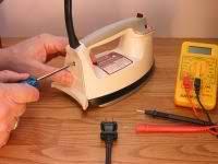 electric iron repair how to repair small appliances electric iron repair
