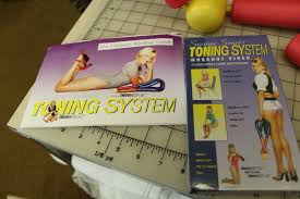 Suzanne Somers Thighmaster Gold Plus Buttmaster Lbx Toning System Vhs