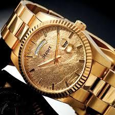 stauer 24k gold leaf midas mens watch 29860 stauer com stauer 24k gold leaf midas mens watch