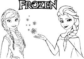 Frozen Pictures To Color Idrakinfo