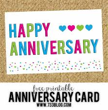 Free Printable Anniversary Cards For Her Extraordinary Printable Anniversary Cards For Parents Card Well And Inspiration
