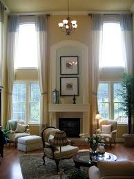 Two Story Living Room Decorating Similiar Two Story Great Room Curtains Keywords