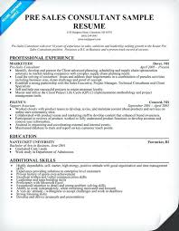 Sales Consultant Sample Resume Sales Manager And Consultant Resume