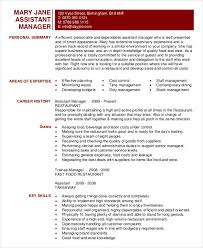 Fast Food Restaurant Manager Resume Restaurant Resume 10 Free Word Pdf Documents Download