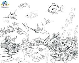 Preschool Coloring Pages Sea Animals Preschool Animal Coloring Pages