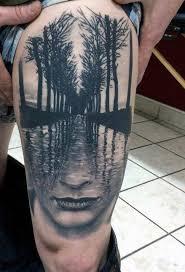 Pánské Tetování Na Krku Odrůdy
