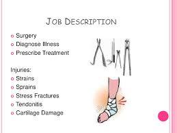 orthopedic doctor job description orthopedic surgeon description