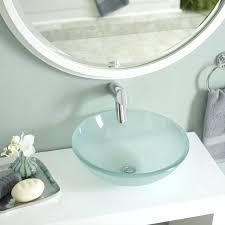 undermount bathroom sink. Extra Wide Bathroom Sink Glass Undermount