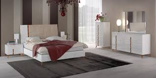 contemporary italian bedroom furniture. Simple Bedroom Contemporary Italian Bedroom Furniture In White Finish W Leather Headboard  Bed Prime Classic Design Offers A Wide Variety Of Modern  To Bedroom Furniture U