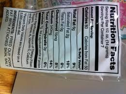 pork rinds nutrition