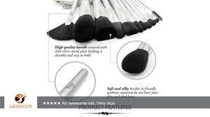 qivange makeup brushes synthetic makeup brush set foundation blush eyeshadow eyelash lip cosmetic