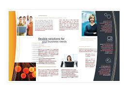 Brochure Template Word Mesmerizing 48 FREE Brochure Templates Word PDF Template Lab