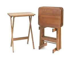 dinner trays tables wooden tray tables flexible wooden sofa armrest tray table with regard to folding