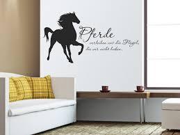 Tier Wandtattoo Pferde Verleihen Uns Wandtattoo Spruch Von