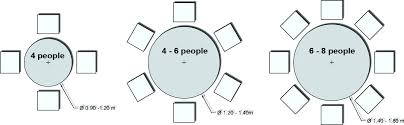 round table sizes for 8 dining table dimensions for 8 table sizes for 8 catchy 6 round table sizes for 8 unique 8 seat round dining