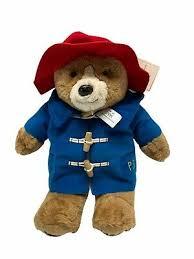 paddington bear teddy bear soft toy by