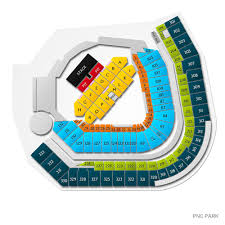 Pnc Park Chart Green Day With Fall Out Boy And Weezer Pittsburgh Tickets