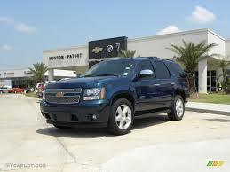 2007 Bermuda Blue Metallic Chevrolet Tahoe LTZ #33935597 ...