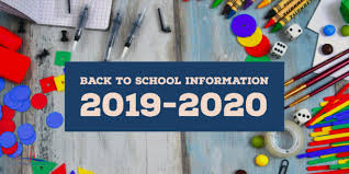 Image result for welcome back to school 2019-2020
