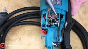 how to replace the brushes on a makita grinder a quick fix