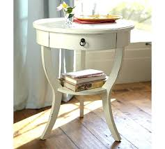 round side table with drawer captivating round bedside table small corner for side table drawer